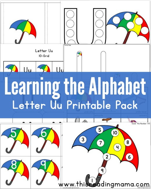 photo about Letter U Printable identify Finding out the Alphabet - Free of charge Letter U Printable Pack - This