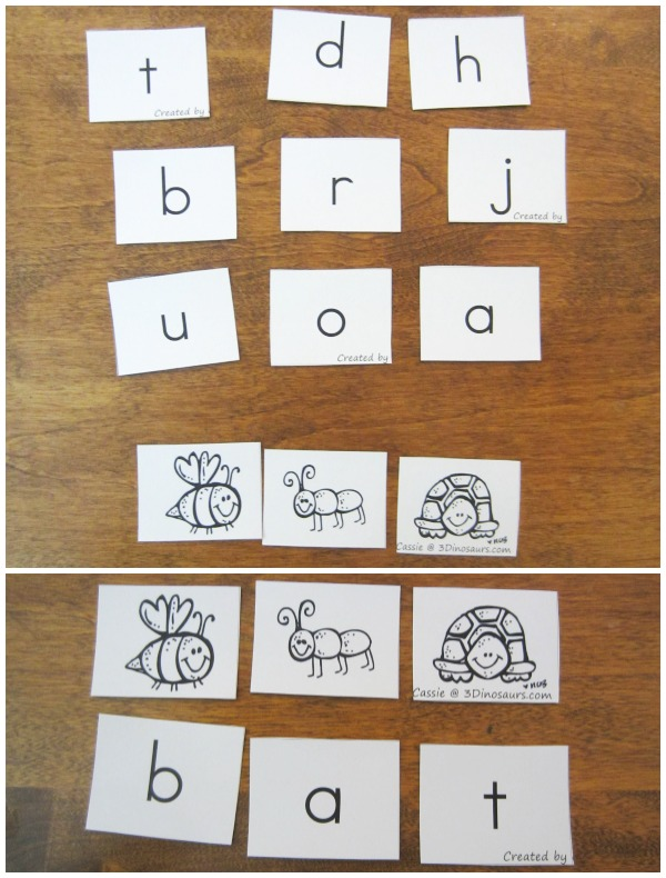 Breaking the Picture Code with ABC Cards