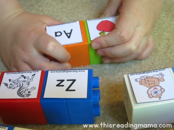 matching letter with beginning letter sound