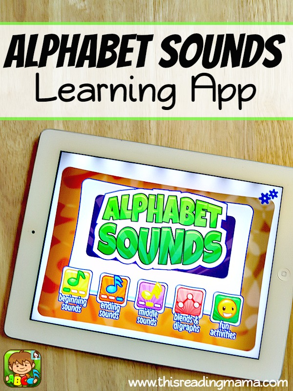 Alphabet Sounds Learning App - with FOUR levels of letter sound learning - This Reading Mama