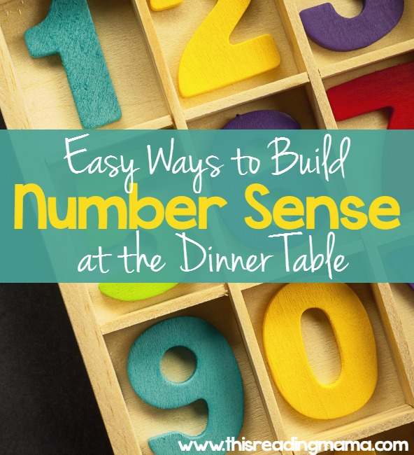 Easy Ways to Build Number Sense During Dinner Time