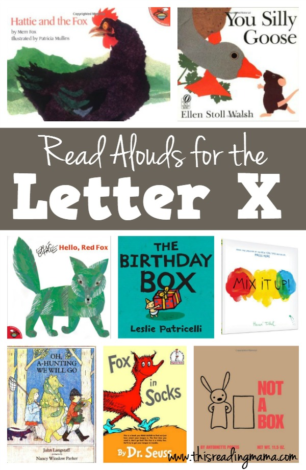 Letter X Books – Read Alouds for the Letter X