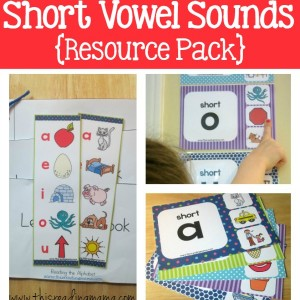 Short Vowel Sounds Resource Pack - square - This Reading Mama