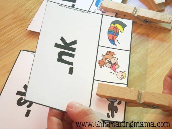 ending blends clip card - nk