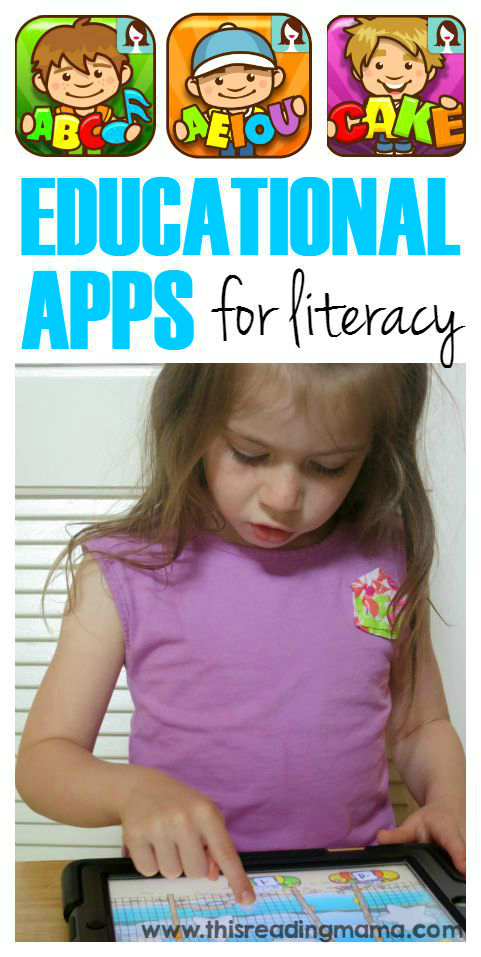Educational Apps for Literacy | This Reading Mama