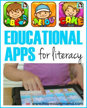 Educational Apps for Literacy from This Reading Mama