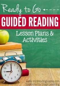 Ready to Go Guided Reading Lesson Plans and Activities