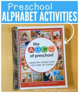 Preschool Alphabet Activities {a HUGE go-to Resource}