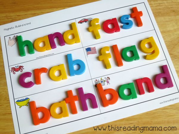 level 2- building short vowel words mats