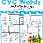 CVCWordsActivityPagesPack-Cover