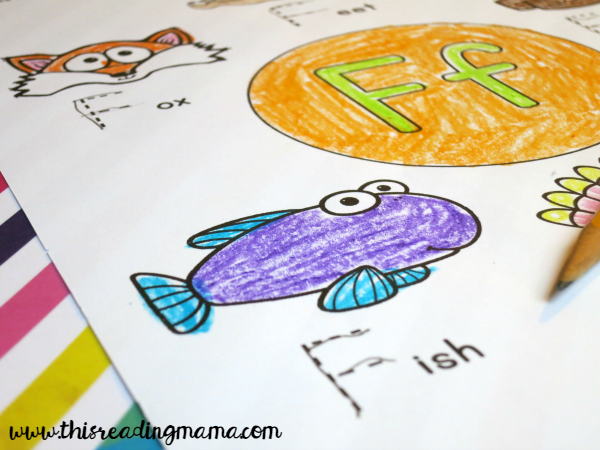 alphabet coloring pages with uppercase tracing letters