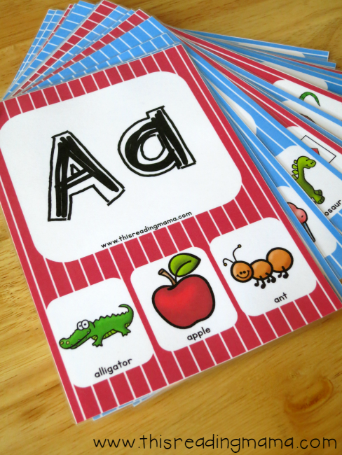free alphabet phonics cards