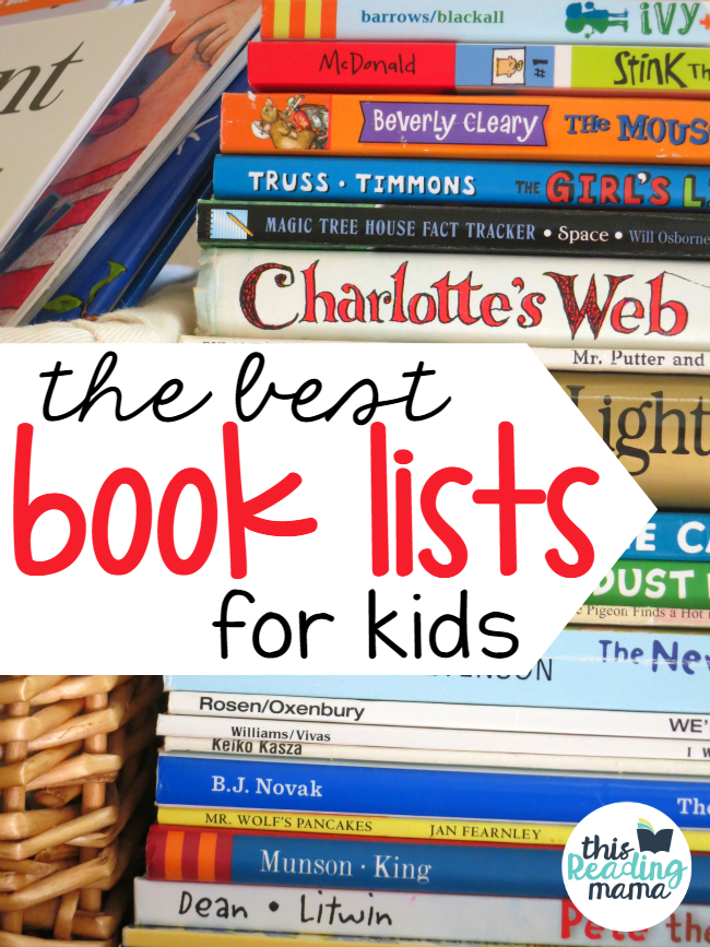 The Best Book Lists for Kids - This Reading Mama