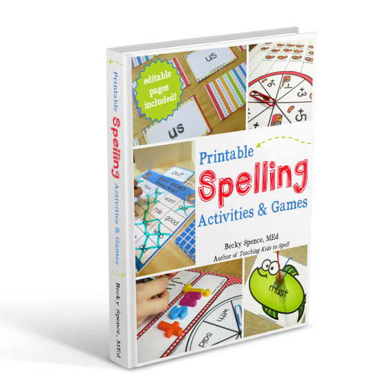 WHITE - Spelling Activities and Games Ebook Cover - cropped