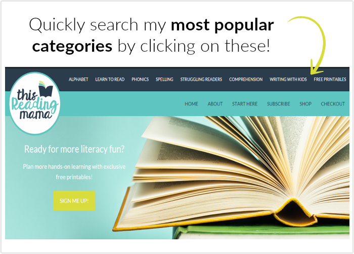quickly search categories