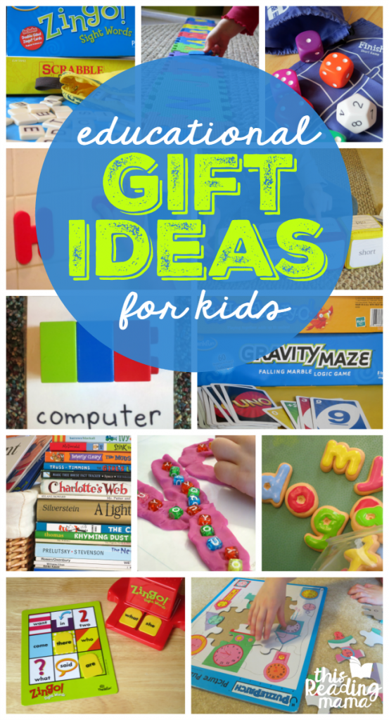Educational Gift Ideas for Kids - This Reading Mama