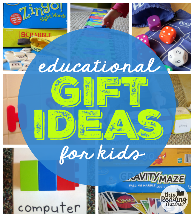 Educational Gift Ideas for Kids from This Reading Mama