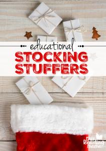 Educational Stocking Stuffer Ideas for Kids