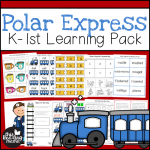 Polar Express K-1 Learning Pack - This Reading Mama