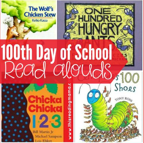 100thdayofschoolreadalouds