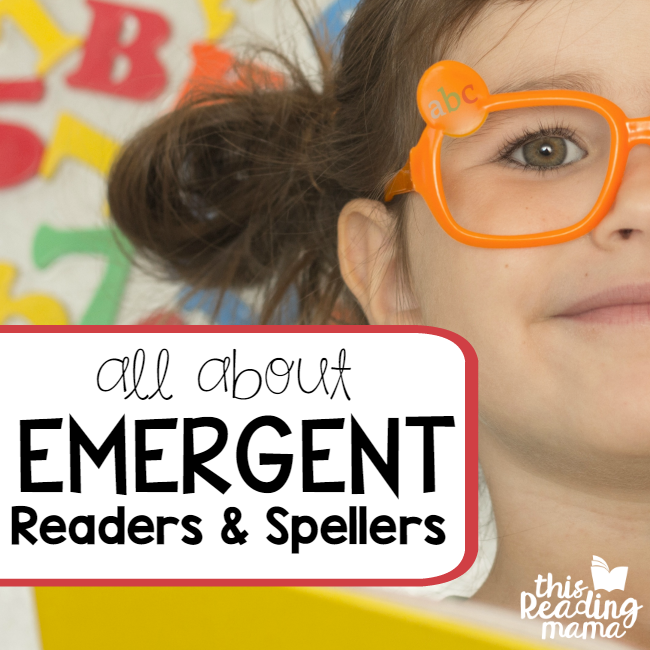 All About Emergent Readers and Spellers - Stage 1 - This Reading Mama