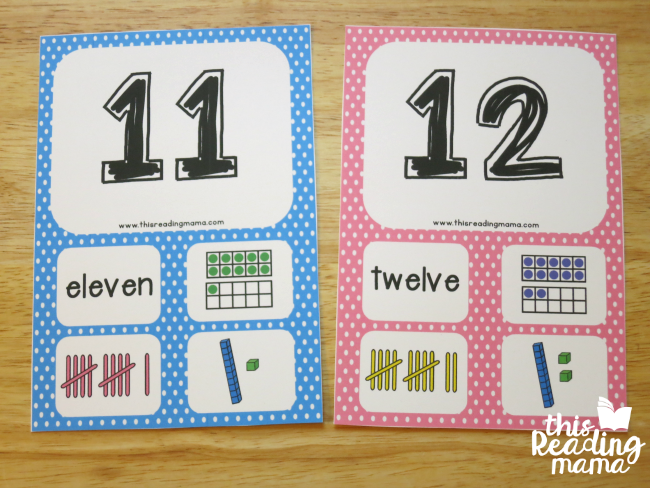 photo about Free Printable Number Cards 1-20 identified as Free of charge Variety Playing cards 3 Concentrations - This Looking through Mama