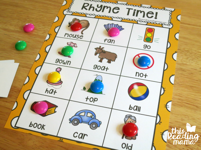 rhyme time game boards winner