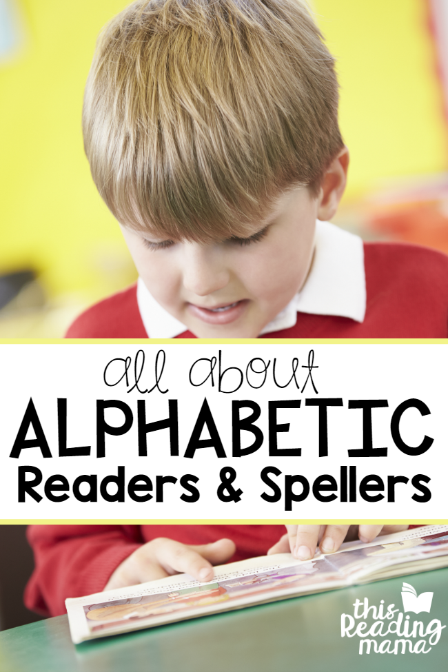 All About Alphabet Readers and Spellers - This Reading Mama