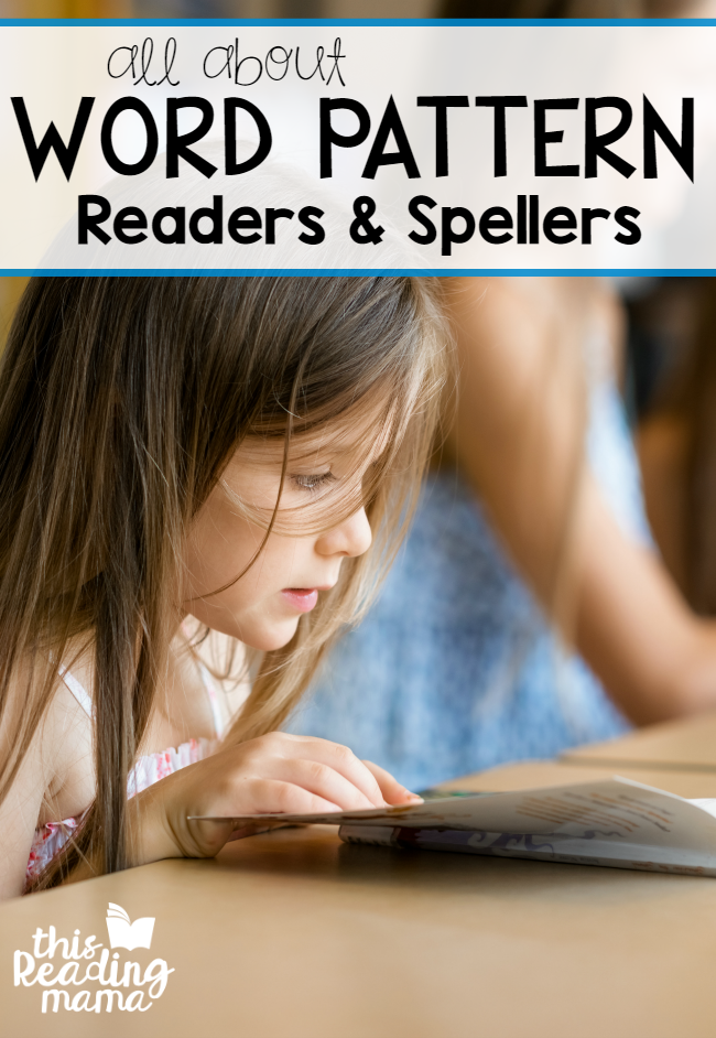 All About Word Pattern Readers and Spellers - Stage 3 - This Reading Mama