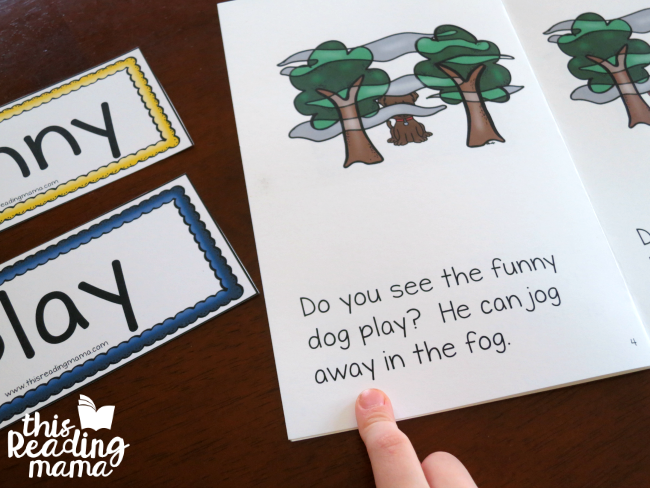 OG Word Family Reader - Play! Jump! Jog! from This Reading Mama