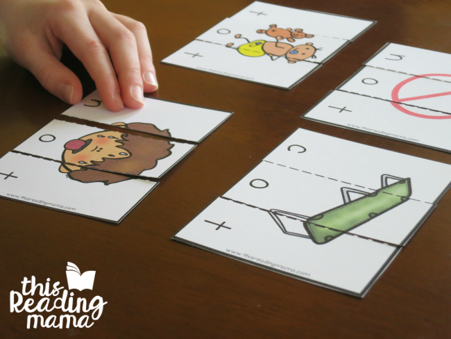 OT Word Family Puzzles from Learn to Read