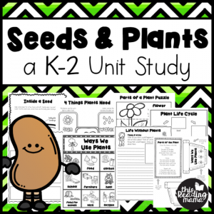 Seeds & Plants Unit Study {for K-2nd}