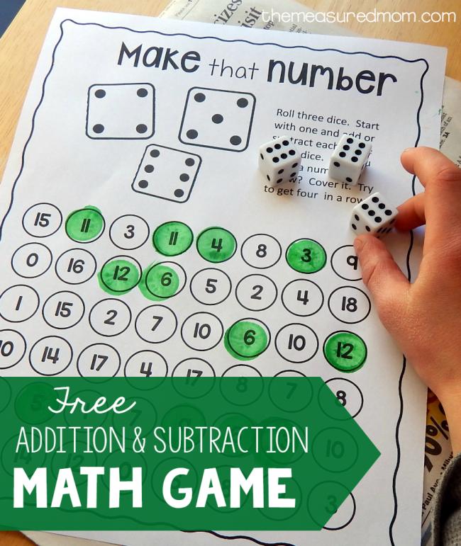 FREE K-2 Math Activities - This Reading Mama