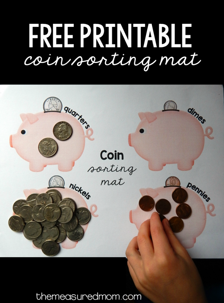 coin sorting mat