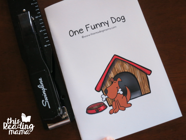 short o review reader - One Funny Dog by Becky Spence