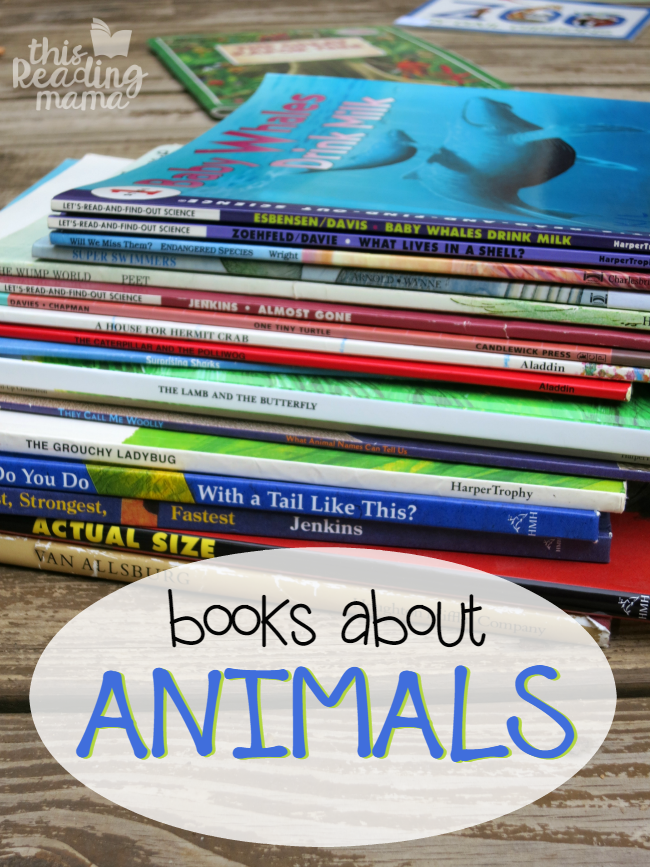 Animal Book List for Kids - This Reading Mama
