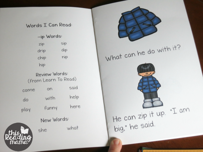 learn to read ip word family reader activities this reading mama