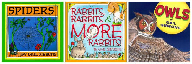 Gail Gibbons books about animals