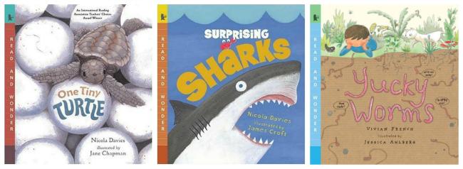 Read and Wonder Animal Books
