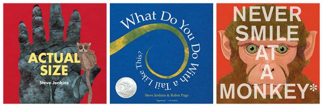 Steve Jenkins nonfiction animal books