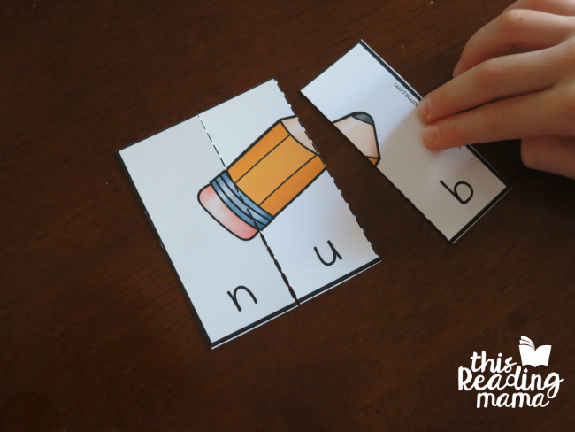 UB Word Family Puzzles - This Reading Mama