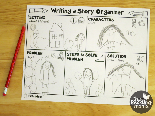 Graphic organizers for writing a story