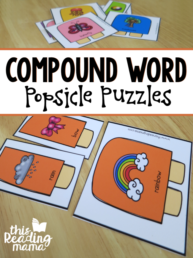 graphic about Printable Compound Word Games identify Free of charge Material Phrases Pack