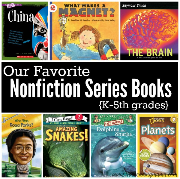 Favorite Nonfiction Series Books from This Reading Mama