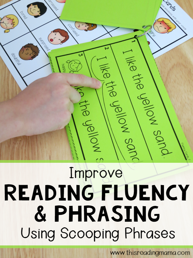 photo regarding Fry Phrases Printable named Examining Fluency and Phrasing Making use of Scooping Terms - This