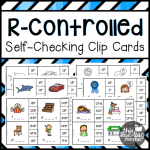 Self Checking R-Controlled Clip Cards - This Reading Mama