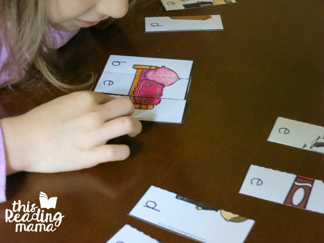 free ED word family puzzles from Learn to Read