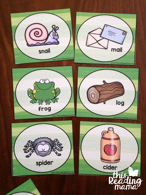 more animal rhyming cards for rhyming songs