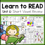 Learn to Read Short Vowel Review {Unit 6} - This Reading Mama