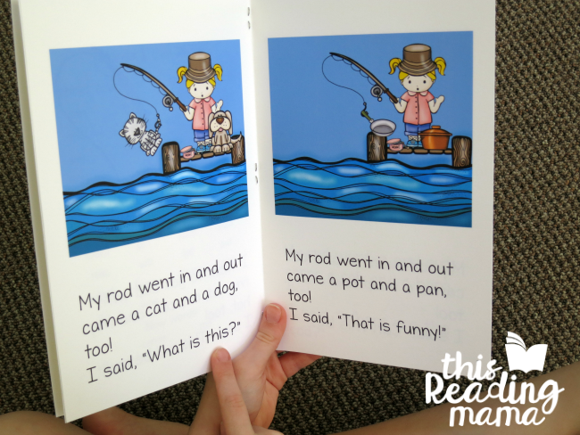 short a and short o phonics reader from lesson 21 of Learn to Read - This Reading Mama